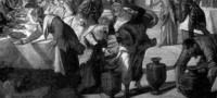 Bodas de Canaá (detalle)