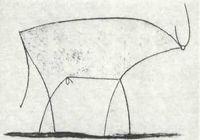 Pablo Picasso, El Toro (1946).
