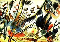 Estudio para improvisación. 1911-1912. V. Kandinsky.