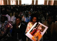 Misa del Papa en Butumbura (Burundi).
