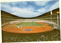 Estadio Olímpico de Seúl durante los juegos de 1988.
