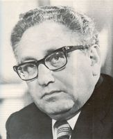 Henry Kissinger.