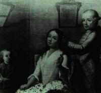 Familia americana cuyos miembros muestran diversos grados de mestizaje.