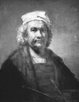 Autorretrato. Falsificación de Rembrandt. Óleo sobre lienzo. Museo Nacional del Prado, Madrid.