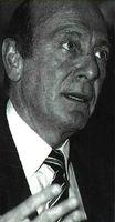 Manfred Wormer, secretario general de la Alianza Atlántica.
