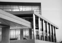 Vista exterior del museo de la Acrópolis.