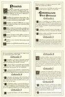 Primeros artículos de la Constitución española de 1978.