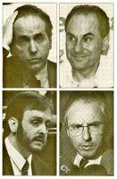 Raimon Obiols, Alex Vidal Cuadras, Angel Colom y Rafael Ribó.