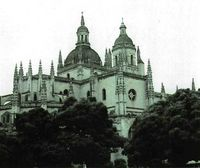 La catedral de Segovia, parte del conjunto monumental de una ciudad milenaria.