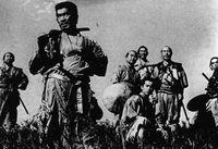 Los siete samurais, 1954.<br /><br />