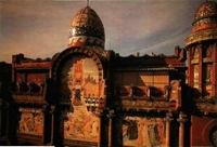 Domenech. Palacio de la Música, mosaico y cúpulas.