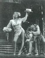 """Lina Morgan, la popular estrella del espectáculo, consiguió una vez más el mayor éxito con """"El último tranvía""""."""