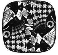 Moris C. Escher, Peces y escamas, 1959.
