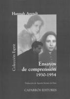 """Portada del libro """"Ensayos de comprensión 1930-1954""""."""
