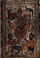 Orfeo cristiano entre los animales. Estambul, Museo Arqueológico.