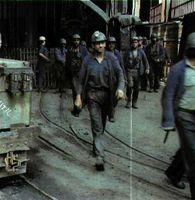 La minería, sector en baja.