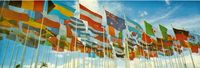 Banderas de los países participantes.