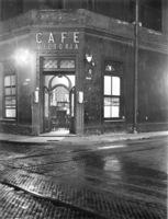 Café Victoria esquina San José, 1936.