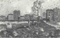 W. Kandinsky. Munich-Schwabing (1901) [Catálogo de la exposición, n° 2]