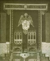 Trono de los Reyes Católicos.