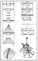 Dibujos analíticos de Robert Le Ricolais sobre estructuras naturales y artificiales. Architectural<br /><br /> Archives of ihe University of Pennsylvania.