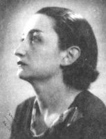 La poetisa Ernestina de Champourcin en su juventud