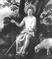 Diego Velázquez. San Juan Bautista en el desierto, Chicago, Art Institute.