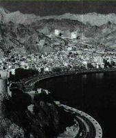 El petróleo ha servido para impulsar el desarrollo industrial en determinados países árabes. Vista de la ciudad de Omán.