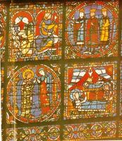 Vidrieras de la catedral de Chartres.
