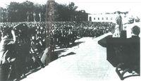 """En el """"Campus"""" de la Universidad de Navarra. Año 1967."""