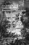 """Portada del libro """"La guerra de la independencia en España""""."""