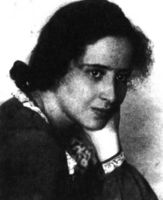 Hannah Arendt. Foto cedida por Raíces, revista judia de cultura. (Nº 36, otoño 1998. p.20).