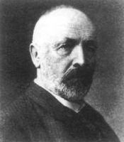 Georg Cantor (1845-1918).