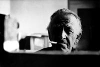 Otto Dix en 1964. Fotografía de Stefan Moses.