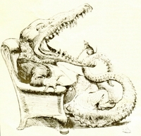 SILVIA Y BRUNO, Lewis Carroll publico la primera parte de Sylvie and Bruno (Londres, Macmillan, 1889).